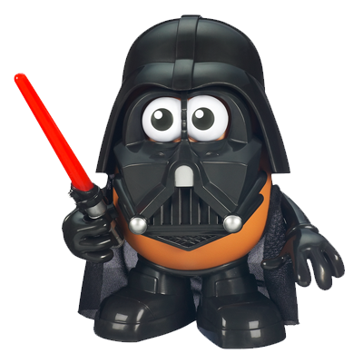Darth Tater - Come to the Spud Side!